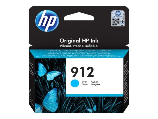 HP 912 - 2.93 ml - Cyan - Original - Tintenpatrone