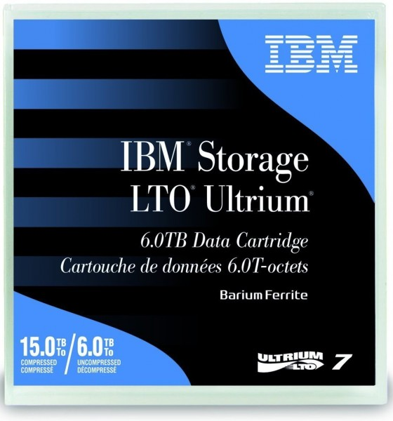 IBM LTO Ultrium 7 - 6 TB / 15 TB - etikettiert