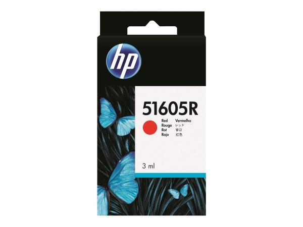 HP Rot - Original - Tintenpatrone - für QuietJet Plus