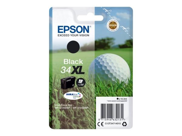 Epson 34XL - 16.3 ml - XL - Schwarz - Original
