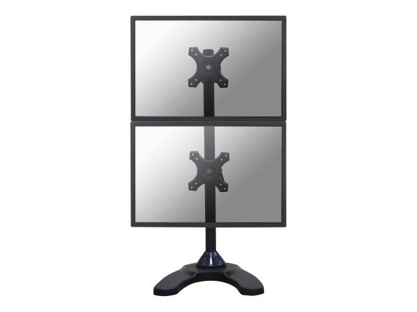 """NewStar FPMA-D700DDV - Aufstellung für 2 LCD-Displays - Schwarz - Bildschirmgröße: 25.4-68.6 cm (10"""""""