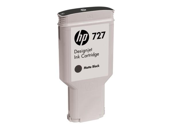 HP 727 - 300 ml - mit hoher Kapazität - mattschwarz