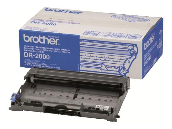 Brother DR-2000 - Trommel-Kit - für Brother DCP-7010, 7025, HL-2030, 2040, 2070, MFC-7225, 7420, 782