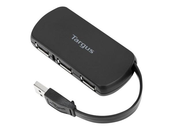 Targus 4-Port USB Hub - Hub - 4 x USB 2.0 - Desktop