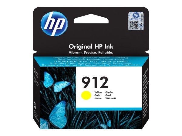 HP 912 - 2.93 ml - Gelb - Original - Tintenpatrone