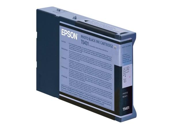 Epson T5431 - 110 ml - Photo schwarz - Original