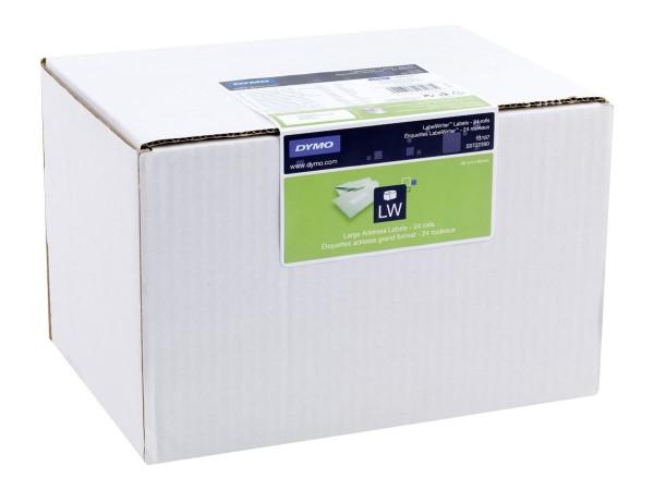 Dymo Large Address Labels - Weiß - 36 x 89 mm 6240 Etikett(en) (24 Rolle(n)