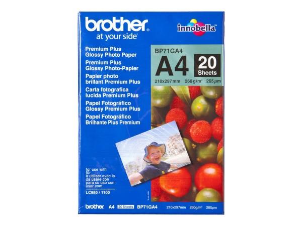 Brother Innobella Premium Plus BP71GA4 - Glänzend - A4 (210 x 297 mm)