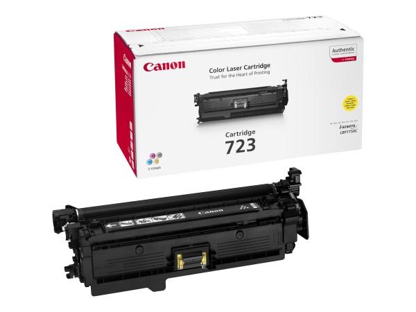 Canon 723 Y - Gelb - Original - Tonerpatrone