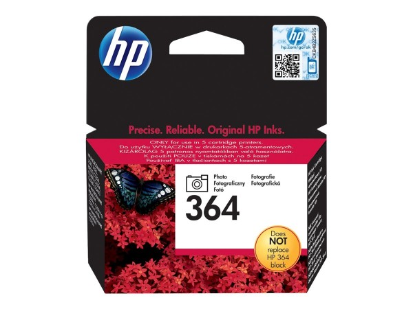 HP 364 - Photo schwarz - Original - Blisterverpackung
