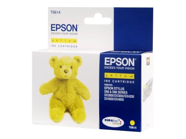 Epson T0614 - 8 ml - Gelb - Original - Tintenpatrone