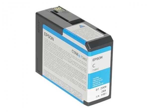 Epson T5802 - 80 ml - Cyan - Original - Tintenpatrone