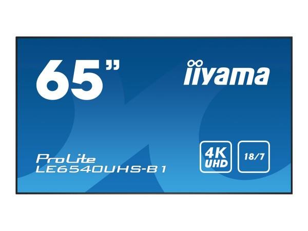 "Iiyama ProLite LE6540UHS-B1 - 165 cm (65"") Klasse (164 cm (64.6"")"