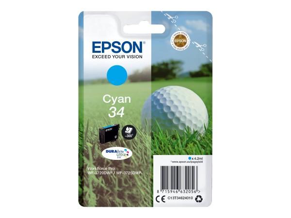 Epson 34 - 4.2 ml - Cyan - Original - Tintenpatrone