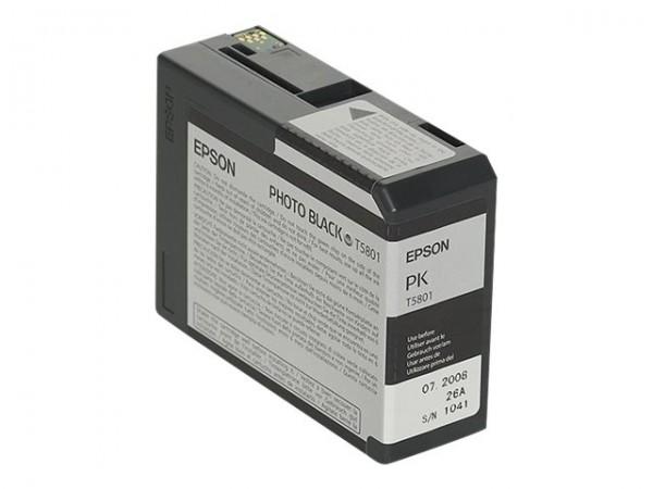 Epson T5801 - 80 ml - Photo schwarz - Original