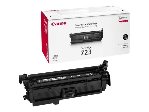 Canon 723 BK - Schwarz - Original - Tonerpatrone