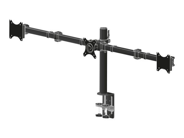 Iiyama DS1003C-B1 - Aufstellung für 3 Monitore (einstellbarer Arm)