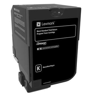 Lexmark Schwarz - Original - Tonerpatrone LCCP, LRP