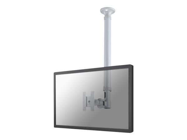 NewStar TV/Monitor Ceiling Mount FPMA-C100SILVER - Deckenhalterung für LCD-Display - Silber - Bildsc