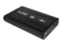 LogiLink Enclosure 3,5 Inch S-ATA HDD USB 2.0 Alu