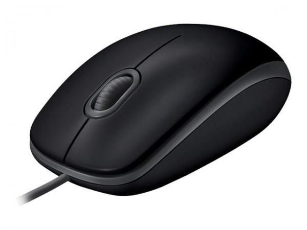 Logitech B110 Silent - Maus - rechts- und linkshändig