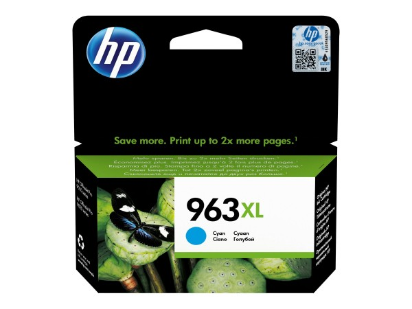 HP 963XL - 22.77 ml - Hohe Ergiebigkeit - Cyan