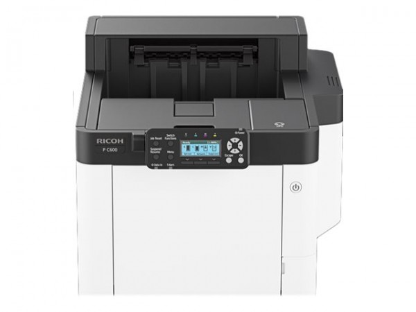 Ricoh C600 - Drucker - Farbe - Duplex - Laser - A4/Legal - 1200 x 1200 dpi - bis zu 40 Seiten/Min. (