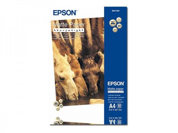 Epson Matt - A4 (210 x 297 mm) - 167 g/m² - 50 Blatt Papier