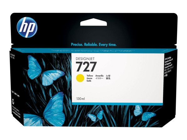 HP 727 - 130 ml - Dye-Based Yellow - Original
