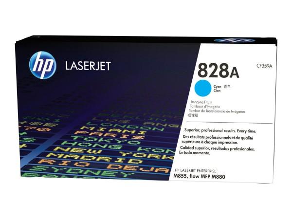 HP 828A - Cyan - Trommel-Kit - für Color LaserJet Managed Flow MFP M880