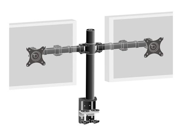 Iiyama DS1002C-B1 - Tischhalterung für 2 Monitore (einstellbarer Arm)
