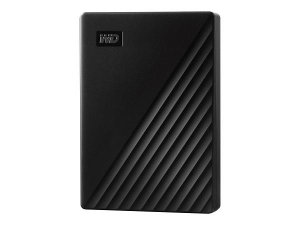WD My Passport WDBPKJ0040BBK - Festplatte - verschlüsselt - 4 TB - extern (tragbar)