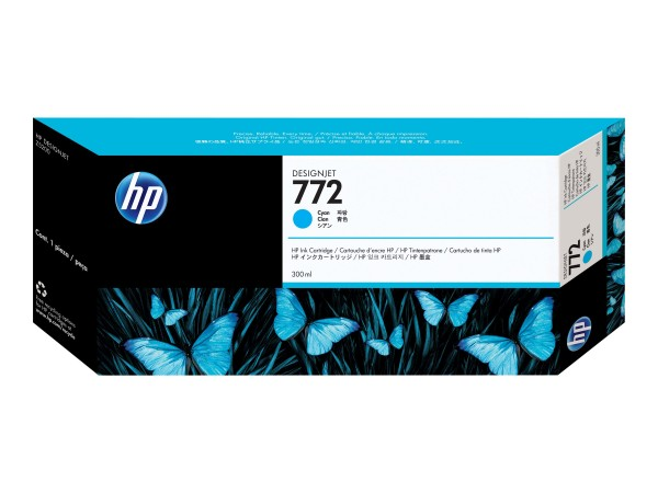 HP 772 - 300 ml - Cyan - Original - DesignJet