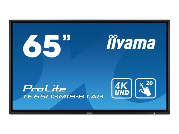 "Iiyama ProLite TE6503MIS-B1AG - 165.1 cm (65"")"