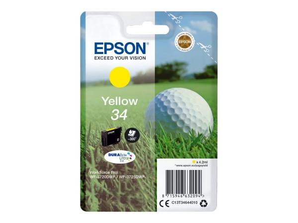 Epson 34 - 4.2 ml - Gelb - Original - Tintenpatrone