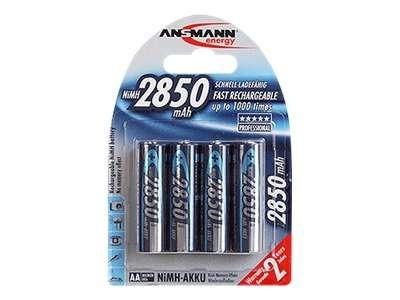 Ansmann Mignon - Batterie 4 x AA-Typ - NiMH - (wiederaufladbar)