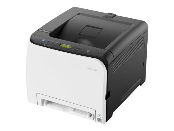 Ricoh SP C261DNw - Drucker - Farbe - Duplex - Laser - A4/Legal - 2400 x 600 dpi - bis zu 20 Seiten/M