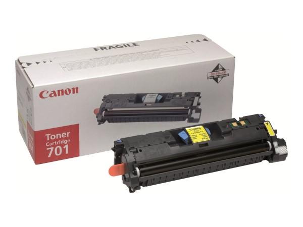Canon 701 - Gelb - Original - Tonerpatrone - für ImageCLASS MF8180c
