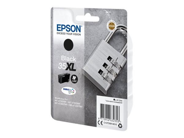 Epson 35XL - 41.2 ml - XL - Schwarz - Original