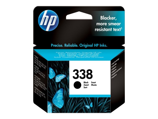 HP 338 - 11 ml - Schwarz - Original - Tintenpatrone