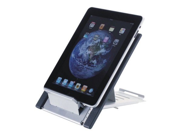 NewStar NSLS100 - Aufstellung für Notebook / Tablet - Neopren - Silber - Bildschirmgröße: 25.4-55.9