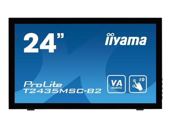 "Iiyama ProLite T2435MSC-B2 - LED-Monitor - 61 cm (24"")"