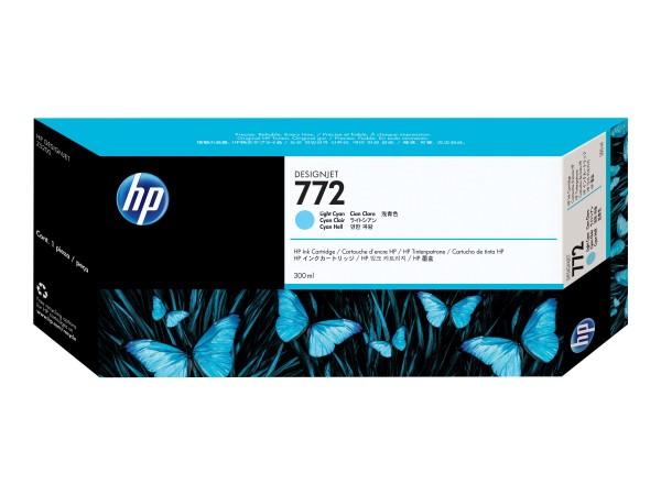 HP 772 - 300 ml - hell Cyan - Original - Tintenpatrone