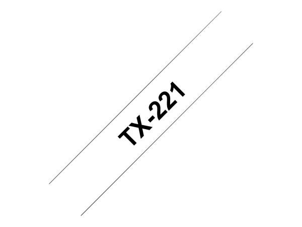 Brother Schwarz, weiß - Rolle (0,9 cm x 15,2 m) 1 Rolle(n) laminiertes Band