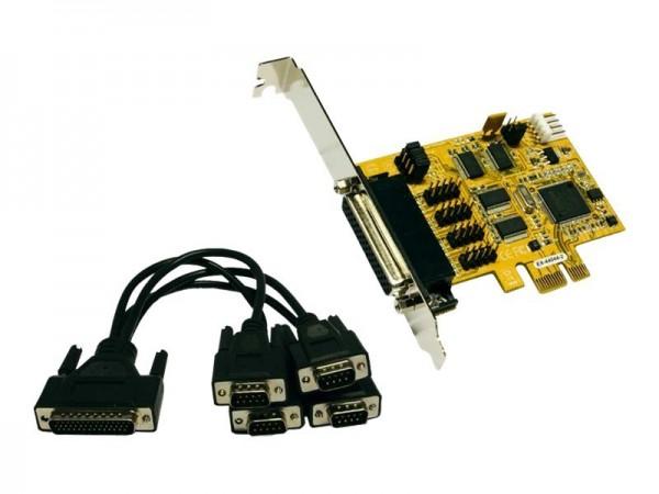 Exsys EX-44044-2 - Serieller Adapter - PCIe x16